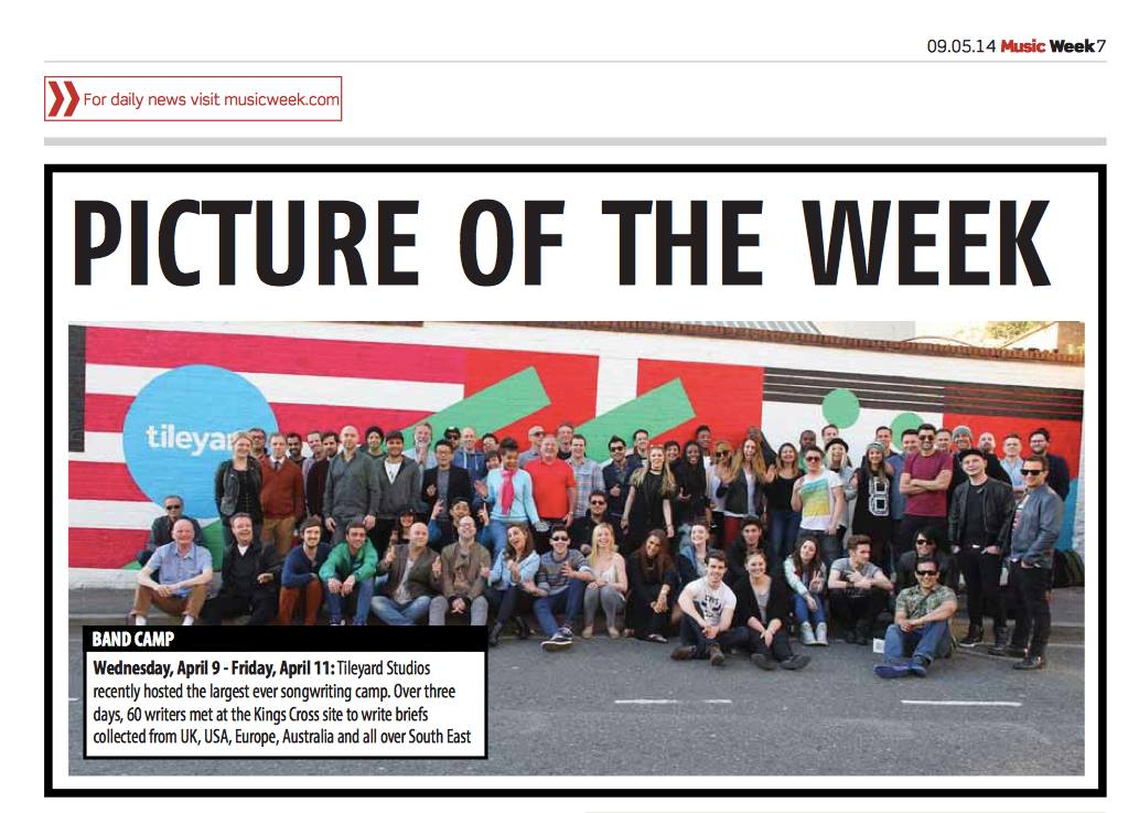 Music Week – Picture of the Week
