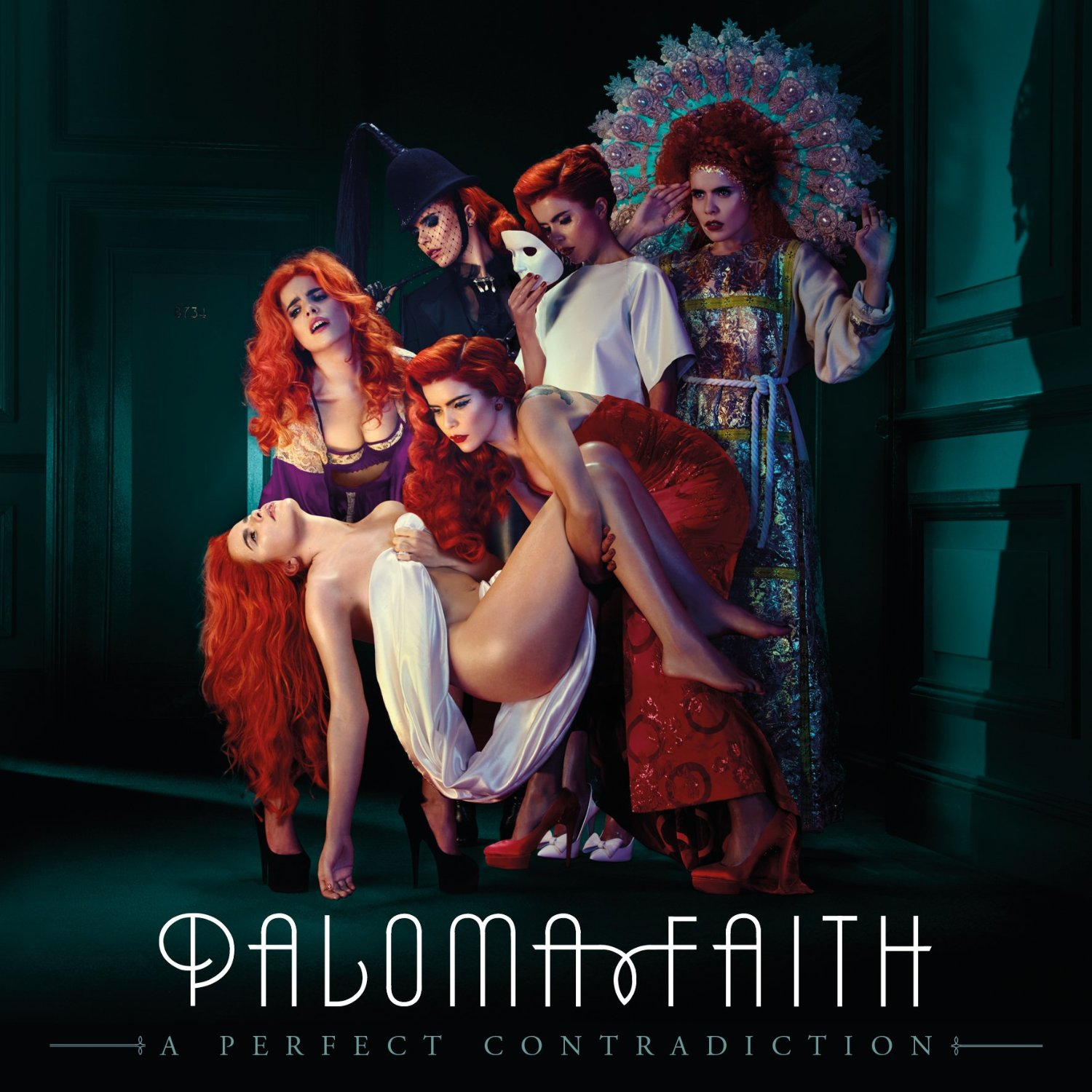 Paloma Faith's album, 'A Perfect Contradiction', awarded BPI 2 x Platinum.