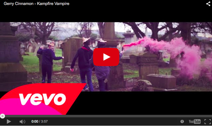 Gerry Cinnamon unveils the official video for 'Kampfire Vampire'