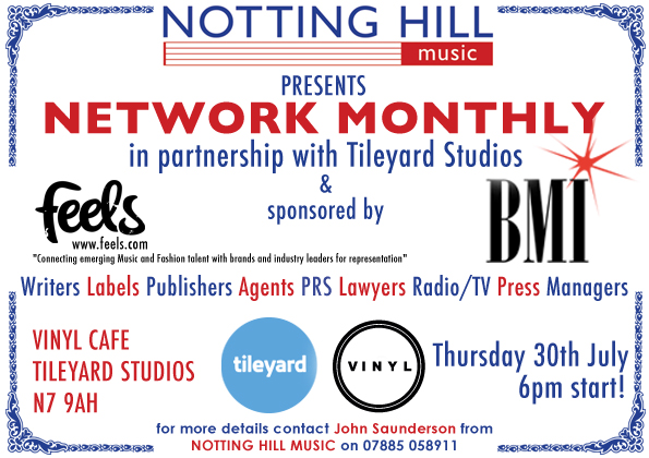 Network Monthly set for Thursday 30th July