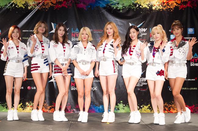 Girls Generation #1 on Billboard's World Album Chart