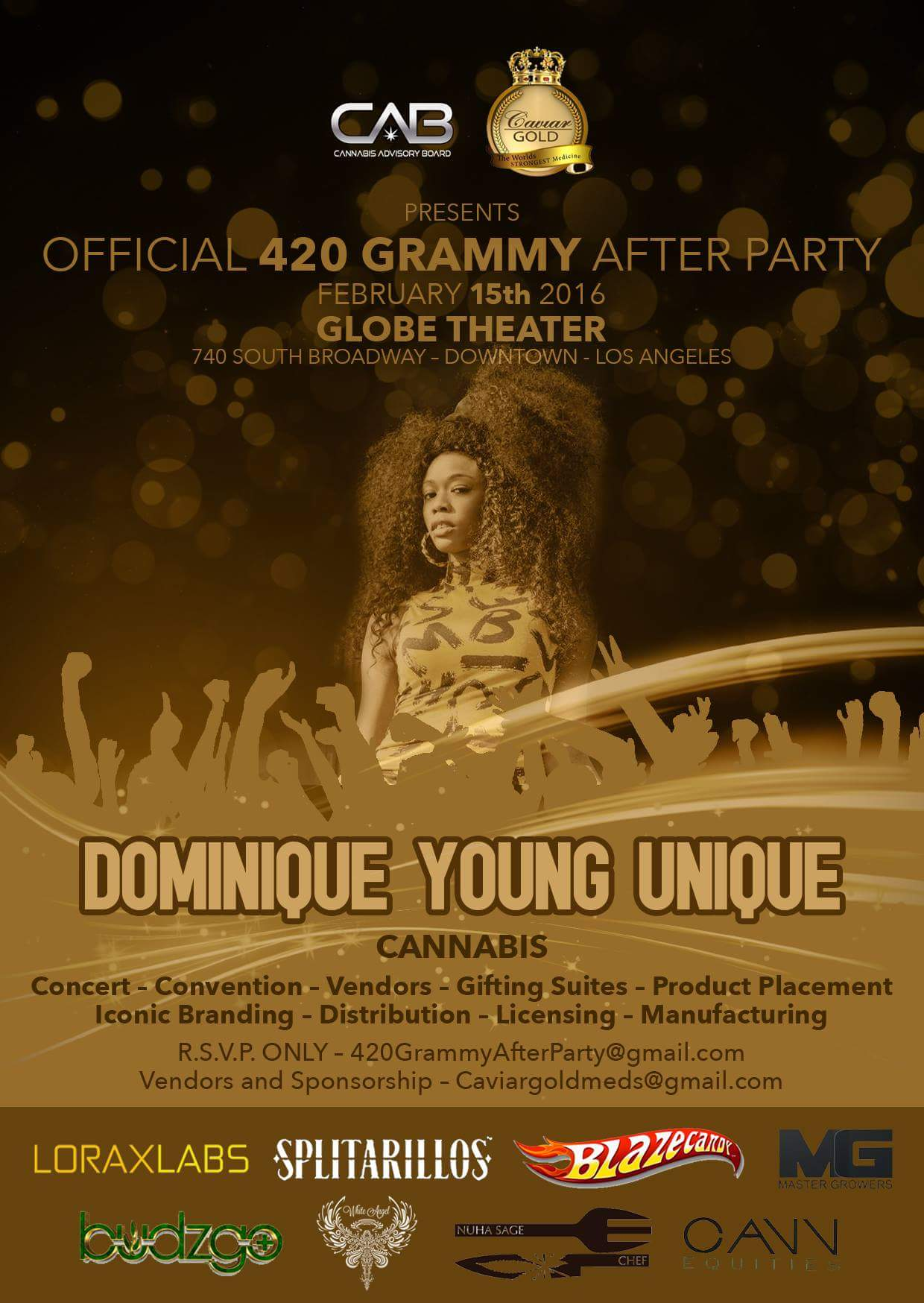 Dominique Young Unique set to perform at the Official 420 Grammy After Party
