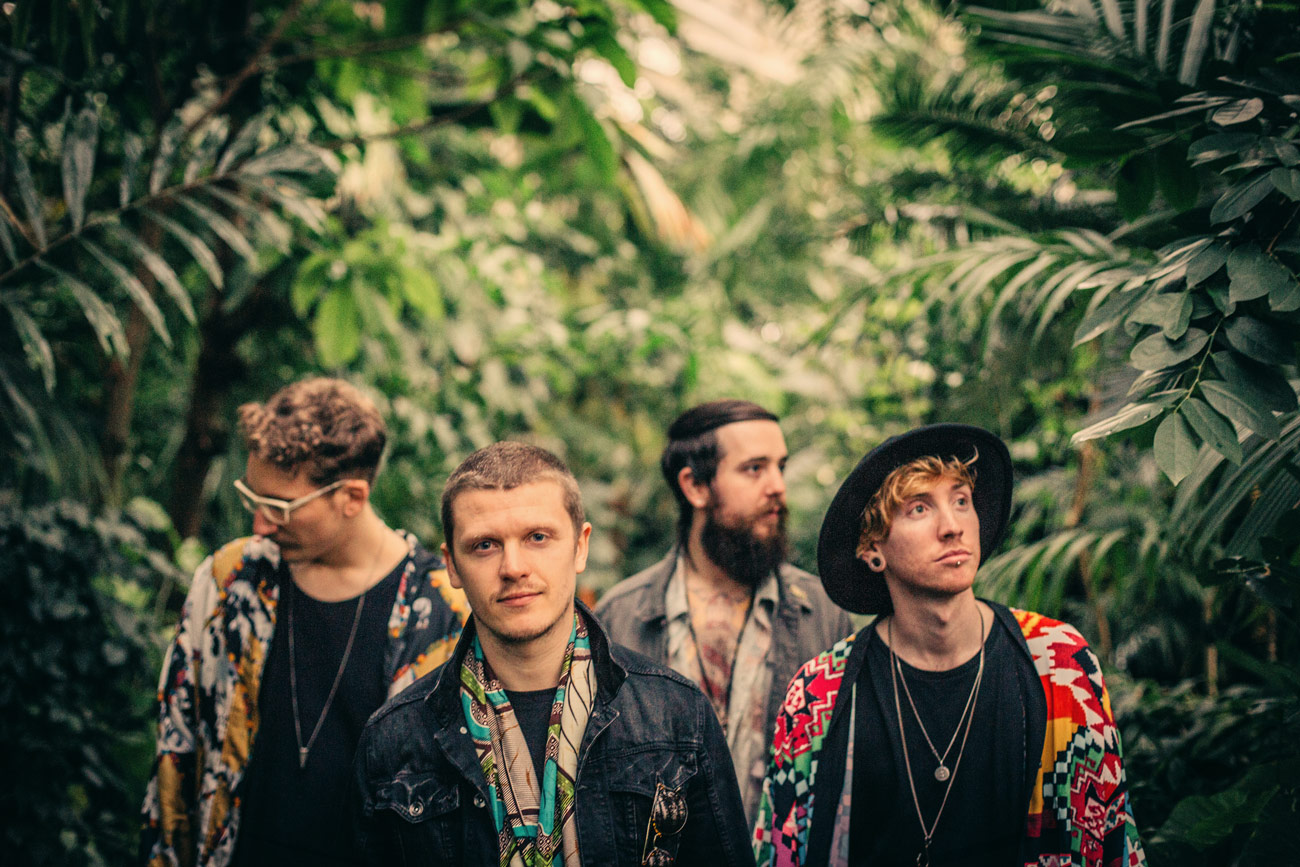 Tribal pop band NATIVES return with stunning, African-influenced new single 'Chasing Lions'