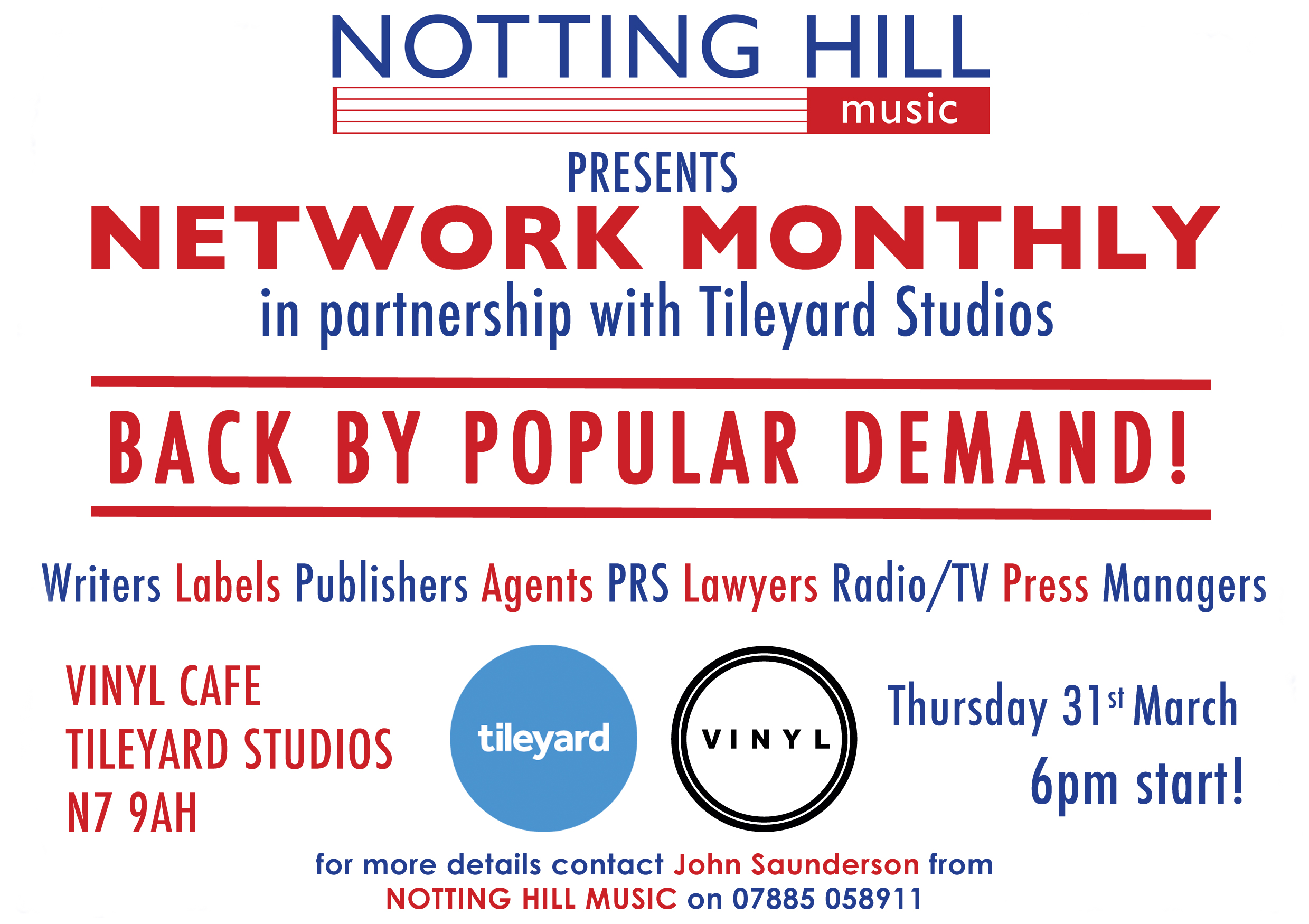 Events Notting Hill Music