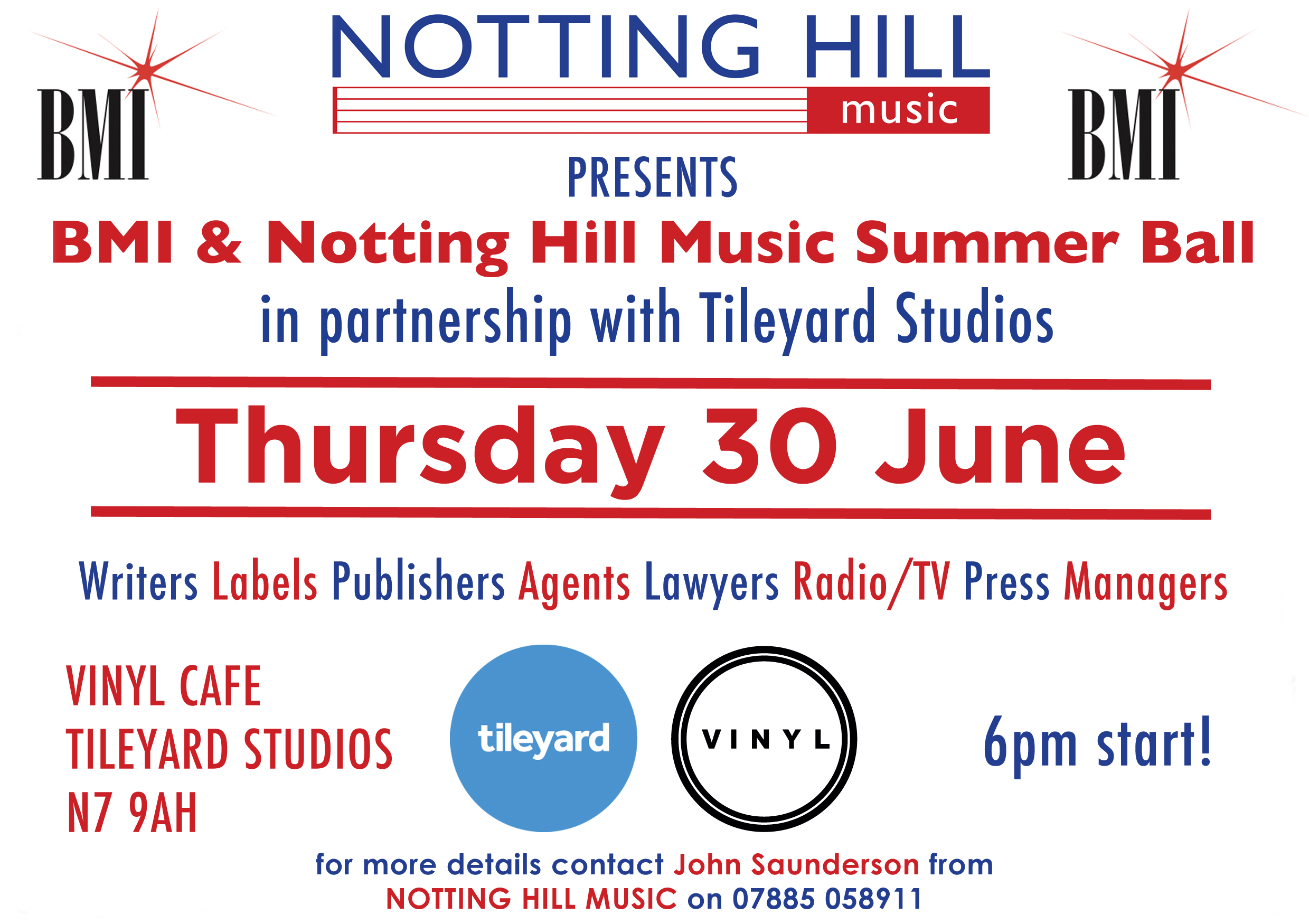 Thursday 30th June!