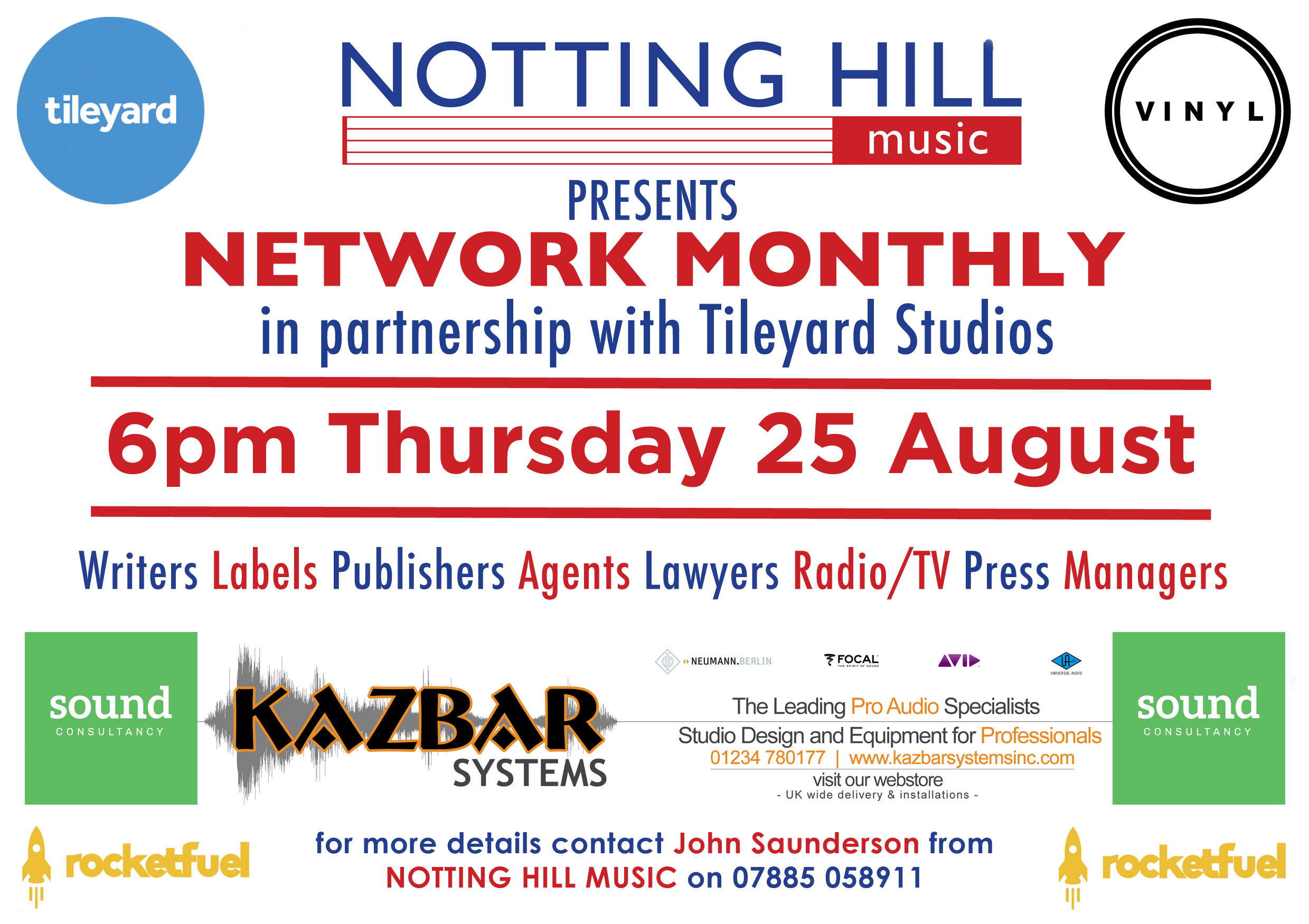 Networking evening will be held on Thursday 25 August 2016!
