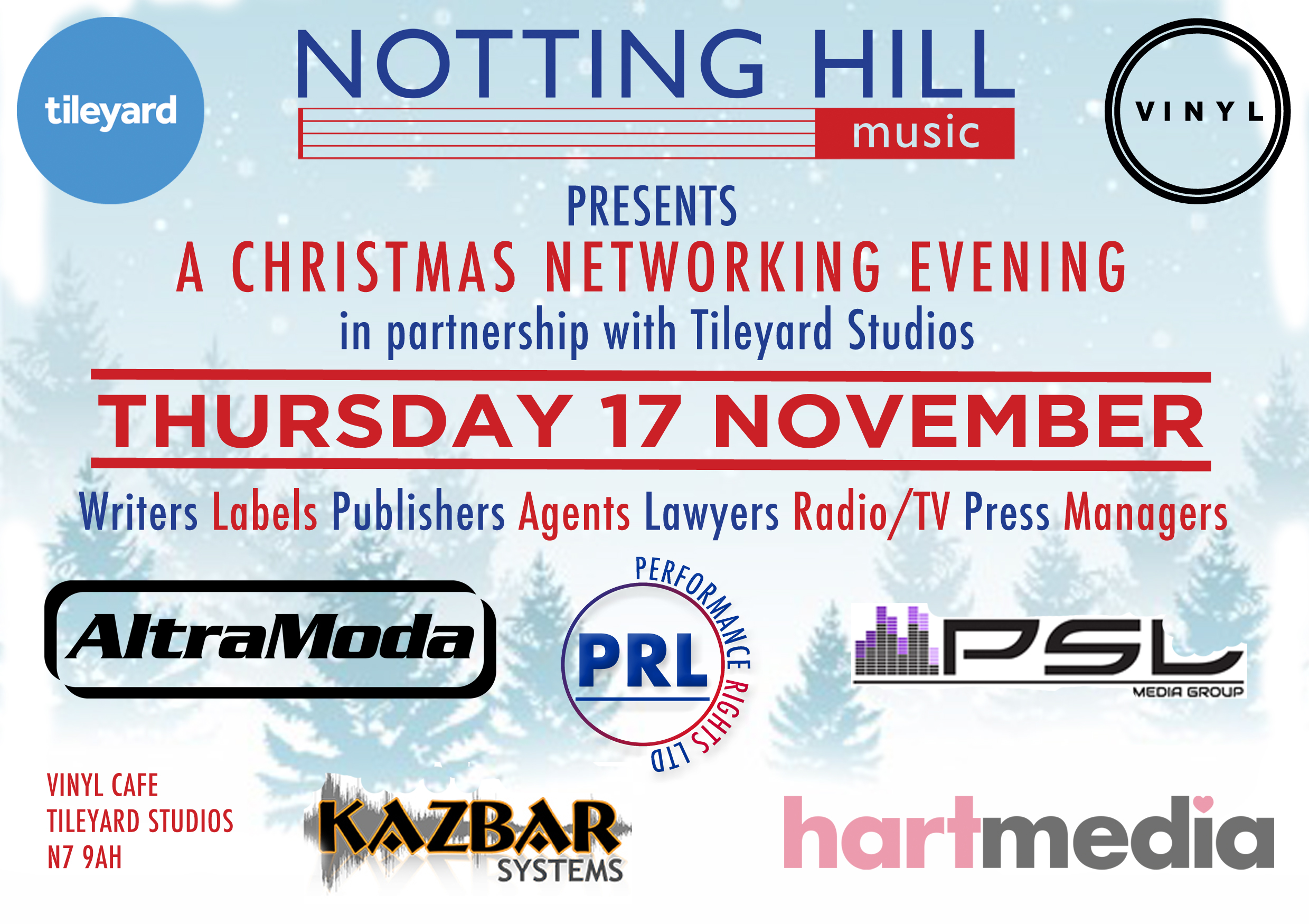 Save The Date – Winter Networking On The 17 November!