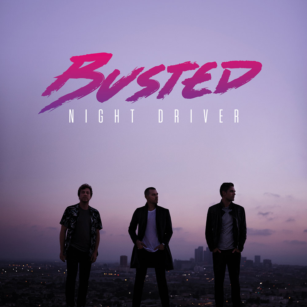 Busted release their comeback album 'Night Driver'