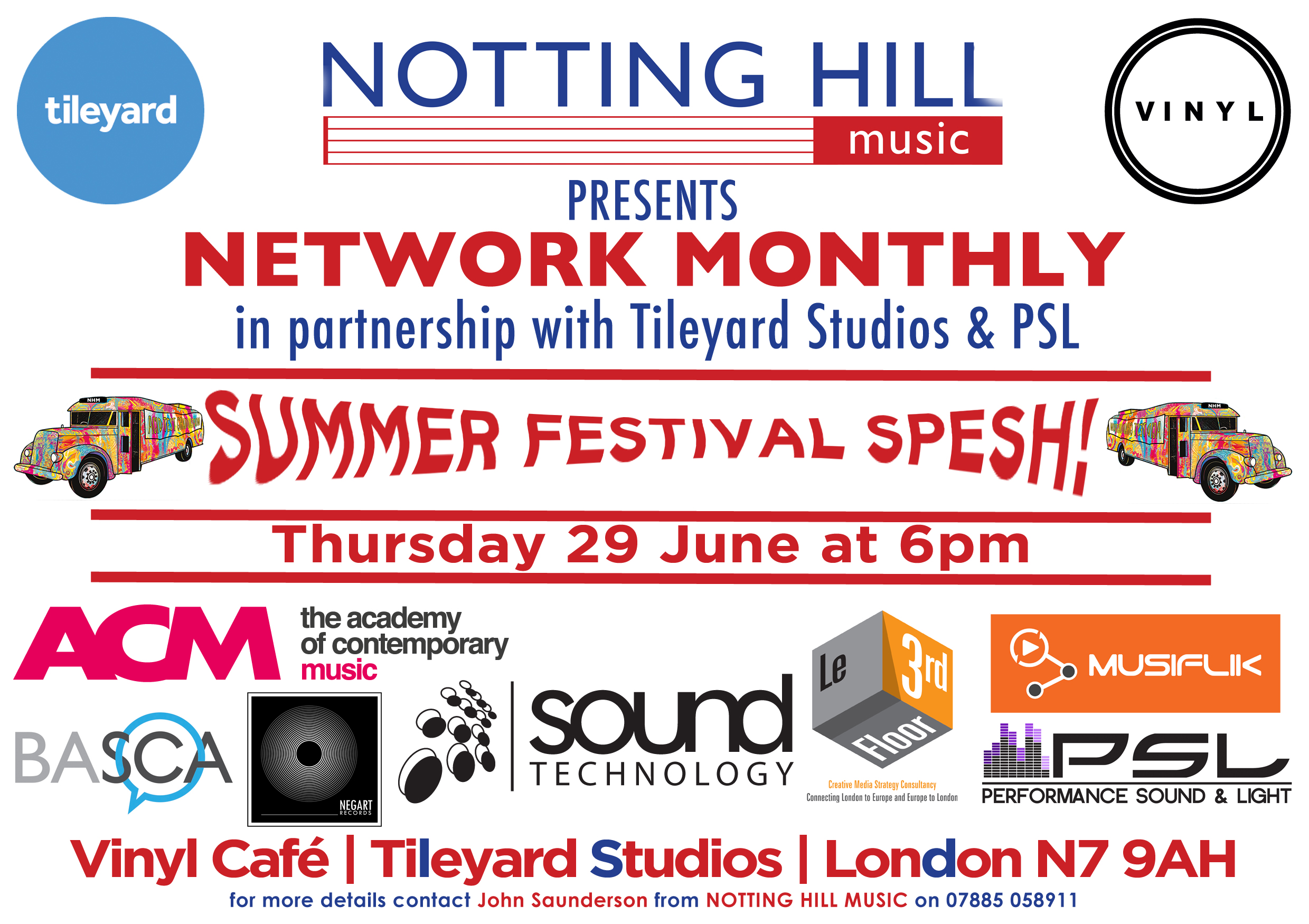 Next networking event on Thursday 29 June
