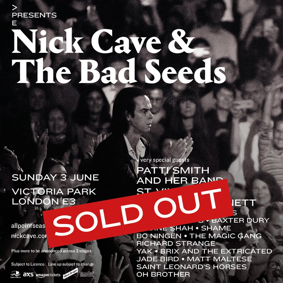 Saint Leonard's Horses Join Nick Cave & The Bad Seeds At All Points East Festival
