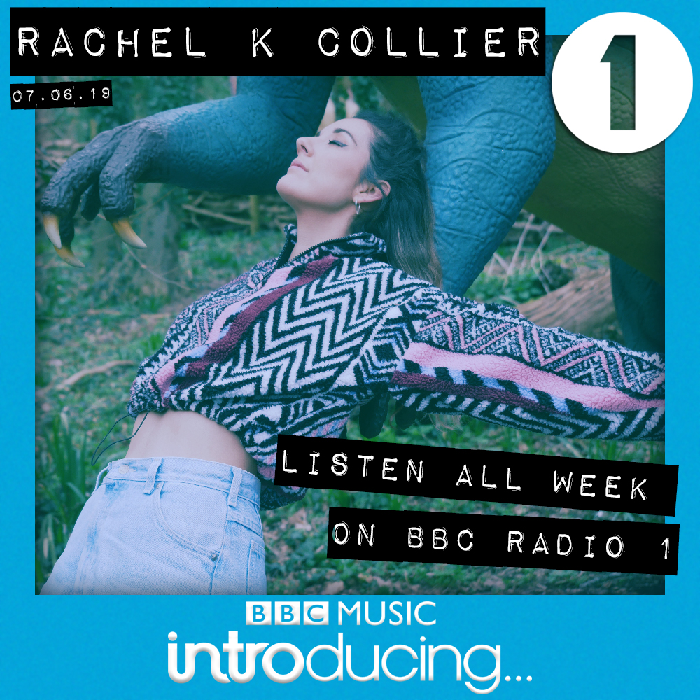 "Rachel K Collier's ""Dinosaur""  Added To BBC Radio 1's Playlist"